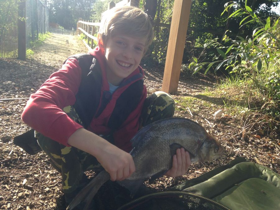 September 2015 - Great Catches on 1st CAST Course for Jack & Oliver!